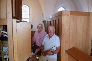 trompetisten og organisten